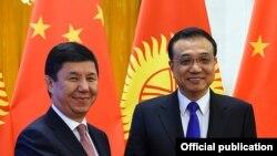Темир Сариев Кытай премьер-министри менен