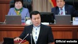 Экс-министр труда, миграции и молодежи Алиясбек Алымкулов.