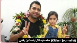 Iran - Haft Tapeh - Esmail Bakhshi after release from Prison.