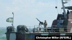 Патрульний катер «Любомир» на варті морського кордону України