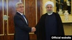 Հայաստանի և Իրանի նախագահները հանդիպում են Թեհրանում, արխիվ