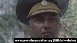 Бывший командующий Пограничными войсками Туркменистана Тиркиш Тырмыев.