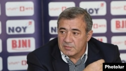 Президент Федерации футбола Армении Рубен Айрапетян