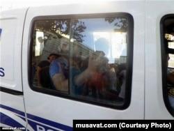 Qurban Məmmədli polis tərəfindən saxlanarkən
