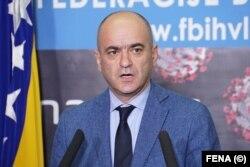 Goran Čerkez, pomoćnik federalnog ministra za zdravstvo i član kriznog štaba