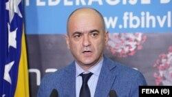Član Kriznog štaba i pomoćnik ministra zdravstva FBiH Goran Čerkez