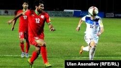 Кыргыз-тажик футболчулары