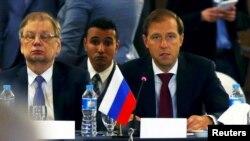 Rusiyanın ticarət naziri Denis Manturov