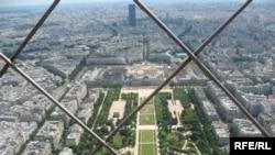 Pamje e Parisit nga Kulla e Aifelit