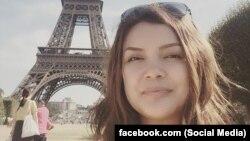 Эльнура Алканова (фото взято с личной страницы журналистки в Facebook'е).