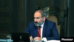 Armenian Prime Minister Nikol Pashinian (file photo)