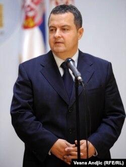 Міністр внутрішніх справ Сербії Івіца Дачич