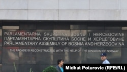 Zgrada državnog Parlamenta BiH