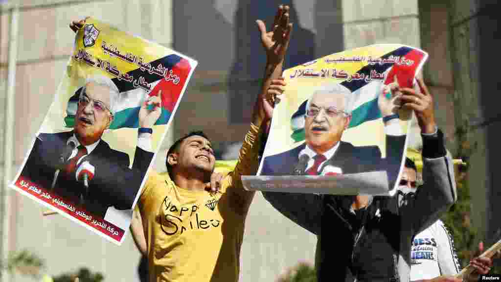 Gaza, 29. novembar 2012. Foto: REUTERS / Suhaib Salem