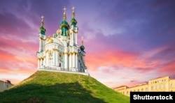 Андріївська церква в Києві, яку передали в безоплатне користування Вселенському патріархату. Церква збудована в 1747–1762 роках