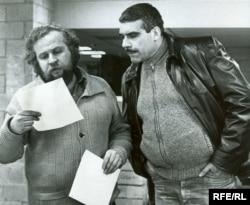 Петр Вайль и Сергей Довлатов. Нью-Йорк, 1981. Фото Нины Аловерт