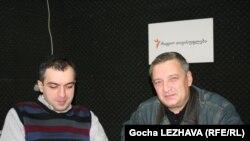 ექსპერტები გია ვოლსკი და თორნიკე შარაშენიძე