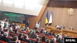 Заседание парламента Крыма, февраль 2010