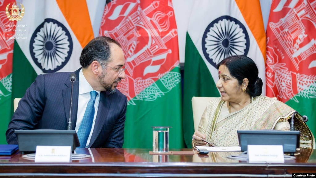India, Afghanistan Strengthen Defense Ties