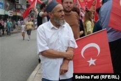 На улице в Анкаре. 28 июля