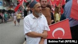 Susținători ai lui Tayyip Erdogan la Zonguldak, Turcia 2016