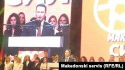 Nikola Gruevski çıxış edir