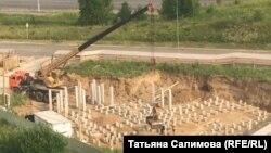 Строительство церкви в Заречном