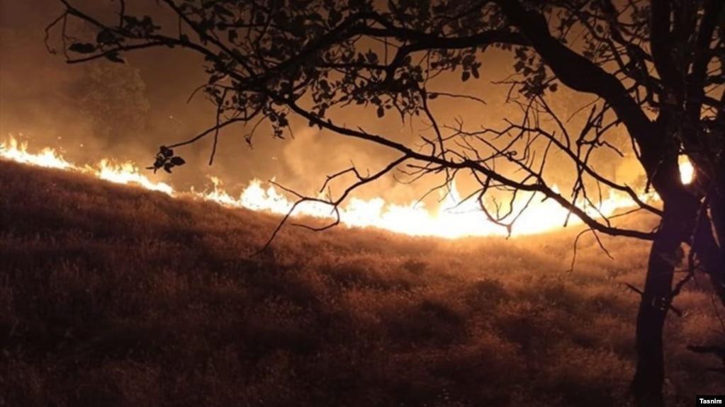 سه شبانه روز آتشسوزی در جنگلها و مراتع دمچنار بویراحمد
