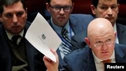 Постпред РФ в ООН Василий Небензя