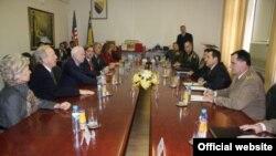 Američki kongresmeni i senatori u Ministarstvu odbrane BiH