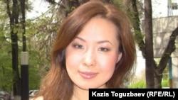Казахская оперная певица Сара Найман. Алматы, 23 апреля 2011 года.