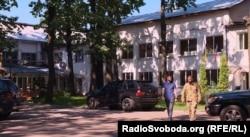 Казарми підрозділу «Грузинський легіон» у Києві