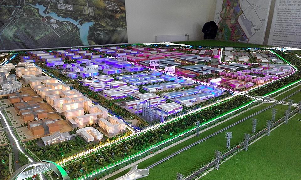 У якой краіне Кітай будуе свой самы вялікі індустрыяльны парк у Эўропе?