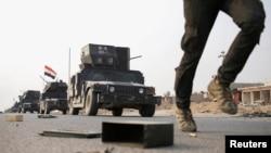 نیروهای عراقی در عملیات آزاد سازی موصل