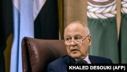 Генеральный секретарь Лиги арабских государств Ахмед Абуль Гейт (архив)