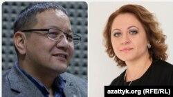 Канатбек Мурзахалилов жана Юлия Денисенко.