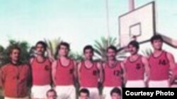 Iraq – An Iraqi basketball team, sport, when??