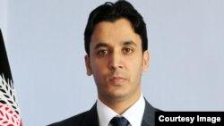 اجمل حمید عبدالرحمیزی سخنگوی وزارت مالیه افغانستان