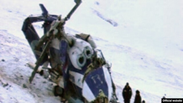 Russian officials may have been hunting the rare Argali sheep when their helicopter crashed.