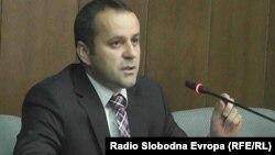 Хисен Џемаили, претседател на Советот на општина Тетово.