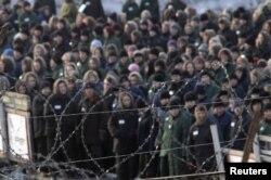 Заключенные женской тюрьмы в российском селе Горное, 160 километров от Владивостока.
