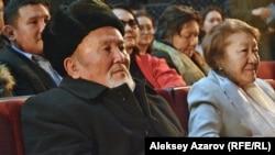 Муфтихан-ата на премьере фильма. Алматы, 25 января 2018 года.