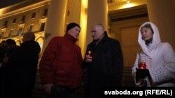 Уладзімер Някляеў, Мікола Статкевіч і Марына Адамовіч