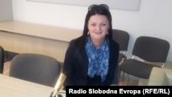 Ирена Мулачка, добитник на наградата за истражувачко новинарство Никола Младенов што ја доделува МИМ.