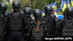 Минулорічні заходи до 9 травня у Києві посилено охороняла поліція