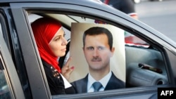 In Mizakh's world view, it's either President Bashar al-Assad or the Islamic State (IS) group who will rule Syria. There is no room for an alternative government.