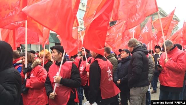 La protestul de astăzi al PSRM
