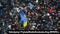 Митинг в Симферополе, 26 февраля 2014 года