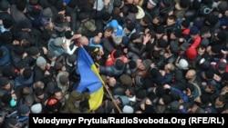 Столкновение во время митинга 26 февраля 2014 года в Симферополе