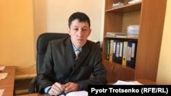 Заместитель акима Кушумского сельского округа Ауган Альмурзин. Западно-Казахстанская область, февраль 2018 года.
